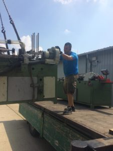 Ipari gép szállítás